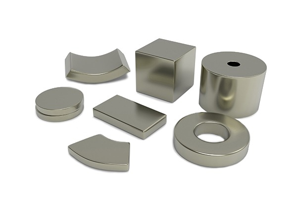 Sintered Neodymium-Iron-Boron (NdFeB) magnets