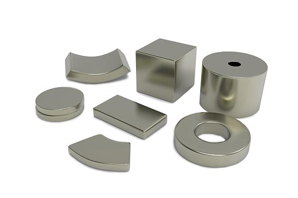 Magneti Neodimio-Ferro-Boro (NdFeB) sinterizzato