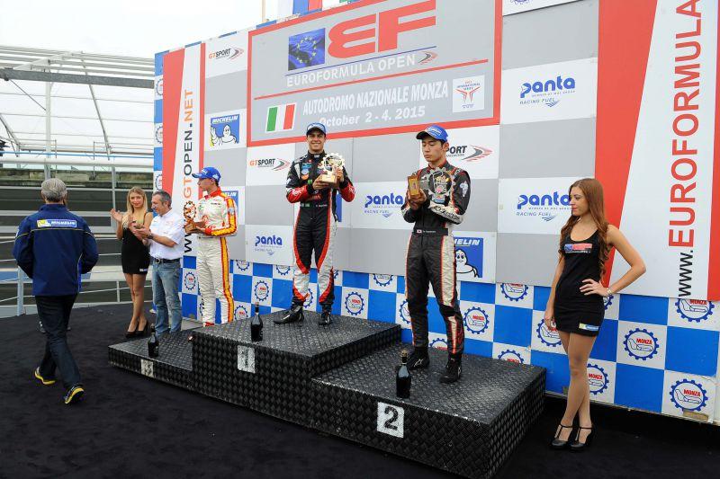 15 Formula 3: Garnet wins again in Monza