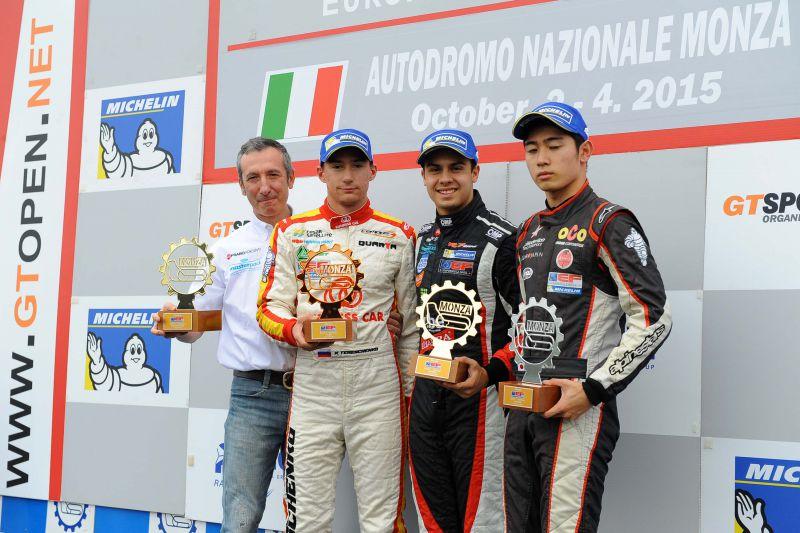 16 Formula 3: Garnet wins again in Monza