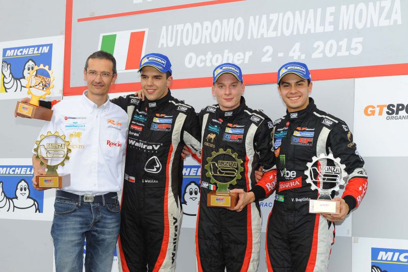 19 Formula 3: Garnet wins again in Monza