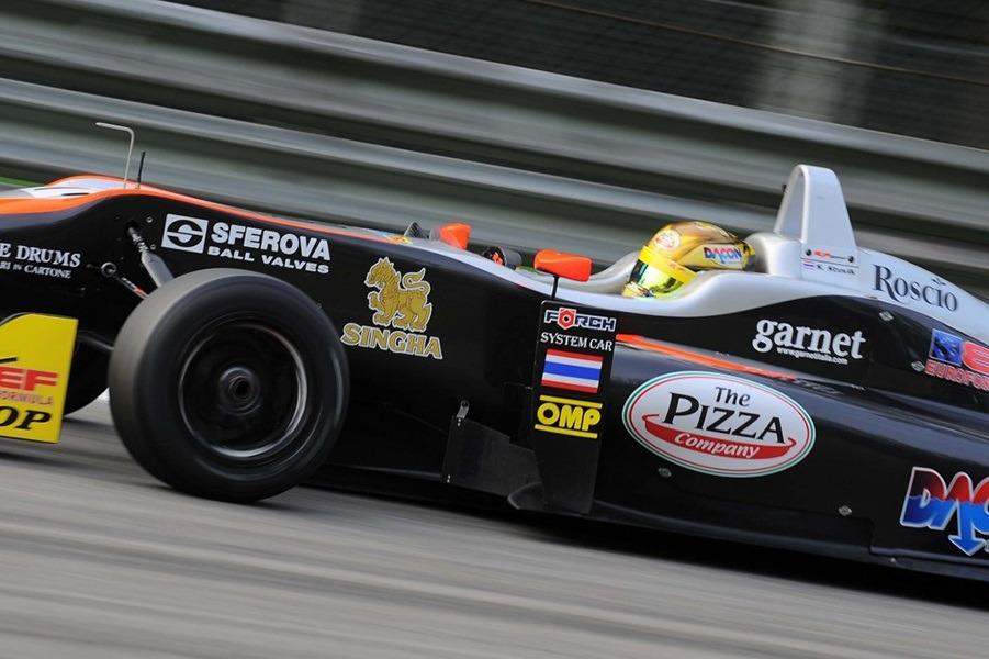 euroformula monza stuvik rp motorsports garnet 1 Garnet also wins on the track: RP Motorsport is champion