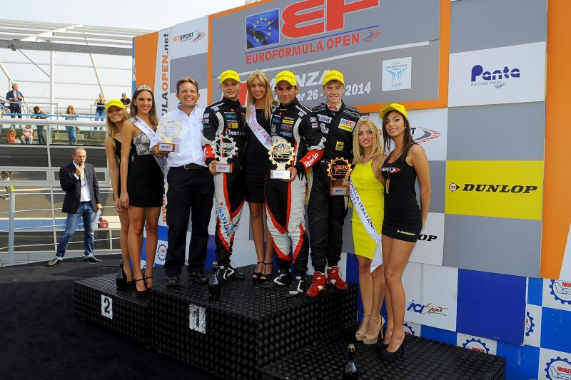 euroformula monza stuvik rp motorsports garnet 21 Garnet also wins on the track: RP Motorsport is champion