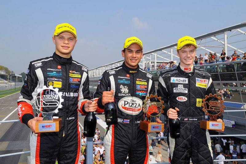 euroformula monza stuvik rp motorsports garnet 21b Garnet also wins on the track: RP Motorsport is champion